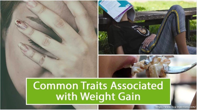Common Traits Associated with Weight Gain