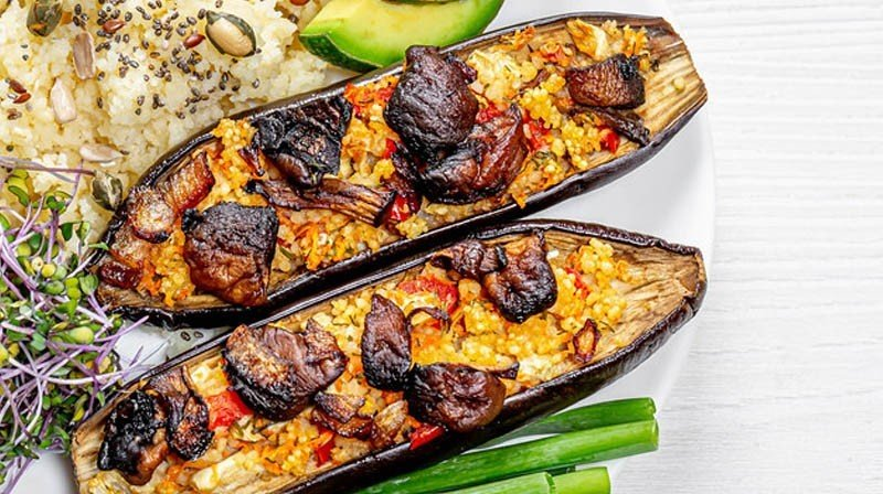 Baked Eggplant with Beef for Phase 2