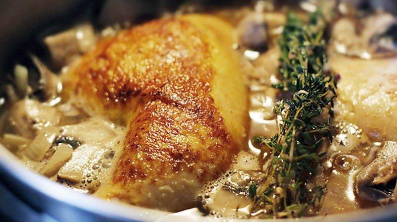 Braised Chicken in Sauerkraut for Phase 2