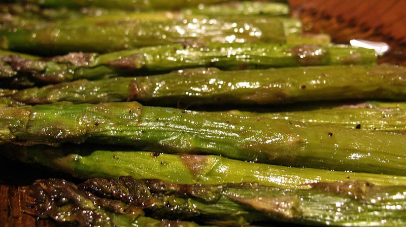 Roasted Asparagus for Phase 2