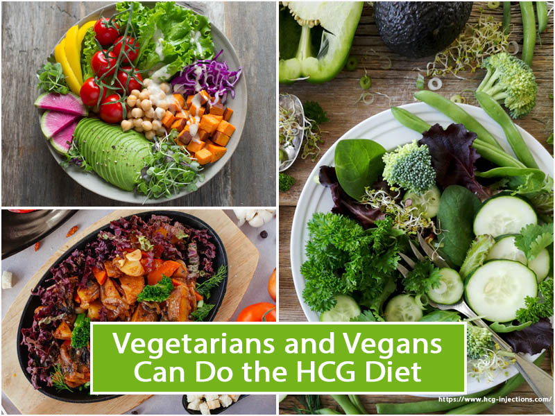 Vegetarians and Vegans Can Do the HCG Diet